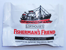 FISHERMAN'S FRIEND 1 PACK X 25 GRAM ORIGINAL LOZENGES SUGAR FREE SHIPPING