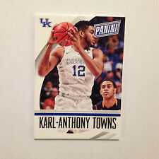 KARL-ANTHONY TOWNS #36 UK RC Kentucky THICK 100 PT 2015 2014/15 Panini National