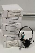 Lot of (7) Polycom 1310-22821-001 HeadSet w/ Mic Volume On/Off