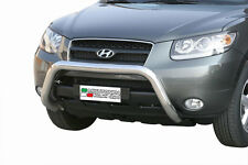 "Hyundai Santa Fe 2006-2010 Ø76 BULL BAR NUDGE BAR LEGAL""CE APPROVED"" Frontbügel"