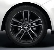 VAUXHALL CORSA D LIMITED EDITION ALLOY WHEELS BLACK SET OF 4 GENUINE NEW 07-14