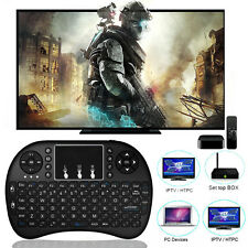 Black For Smart TV PC PAD Keyboard 2.4GHZ i8 Wireless Mini Keyboard Touchpad Hot