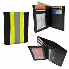 Firefighter Bunker Turnout Gear Wallet Leather Bifold Fire Department Bifold