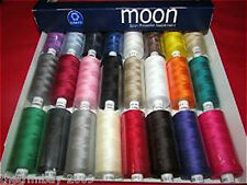 Coates Moon Asst D 120s Sewing Machine Polyester Thread Cotton1000 Yards  £19.95