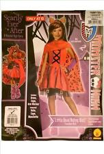 Monster High Clawdeen Wolf Little Dead Riding Wolf Fancy Dress Costume Age 3 - 4