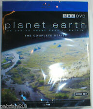 PLANET EARTH THE COMPLETE SERIES Brand New 5-Disc Blu-Ray Set BBC Series TV Show