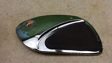 1965 honda cb77 super hawk 305 H446-3~ lh left side chrome tank trim w pad