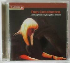 "TOM CONSTANTEN ""DEEP EXPRESSIONS, LONGTIME KNOWN"" CD - BRAND NEW - GRATEFUL DEAD"