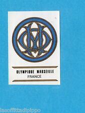 FOOTBALL CLUBS-PANINI 1975-Figurina n.115- OLIMPIQUE M.  FRANCIA -SCUDETTO-Rec