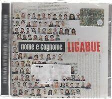 LIGABUE NOME E COGNOME  REMASTERED VERSION CD  SIGILLATO!!!