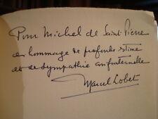 Marcel LOBET  j.-k. huysmans ou le témoin écorché 1960 E.O. num. envoi