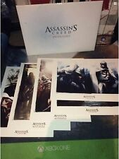 Assassins Creed Anthology Lithographs 1 2 Brotherhood Revelations 3 Collection