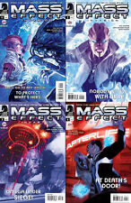 MASS EFFECT INVASION #1 2 3 4 COMPLETE 1ST PRINTING SET! BIOWARE! EA! PS3! XBOX
