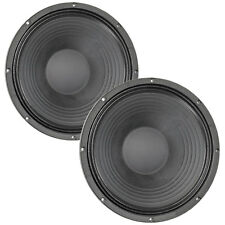 "Pair Eminence Omega Pro-15A 15"" Sub Woofer 8 ohm 97.3dB 4""VC Replacement Speaker"