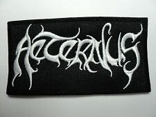 AETERNUS  EMBROIDERED PATCH