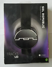 Original Sol Republic Tracks V8 On-Ear Headphones - USED and WORKING