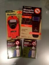 Thermacell Mosquito Repellent Brown Appliance,Orange Holster,2Earth Scent Refill