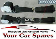 Vauxhall Zafira A - 5 Door - Passenger Side Rear Seat Belt/Seatbelt - 90580902