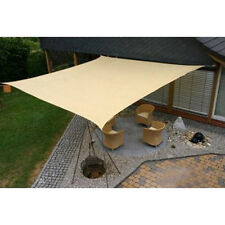 NEW! SUN SAIL SHADE - SQUARE CANOPY COVER - OUTDOOR PATIO AWNING - 20' x 20'