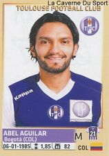 471 ABEL AGUILAR # COLOMBIA TOULOUSE.FC TFC STICKER PANINI FOOT 2015