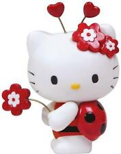 HELLO KITTY LADYBUG~PRECIOUS MOMENTS~NEW FOR 2013~RESIN IN BOX~FREE US SHIPPING~