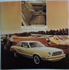 FORD MUSTANG 1976 large original sales brochure prospekt catalogue