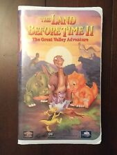 VHS The Land Before Time II, The Great Valley Adventure