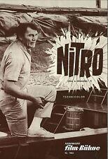 IFB 7853   NITRO   Jack Palance, Fernando Lamas, Aldo Ray   Topzustand