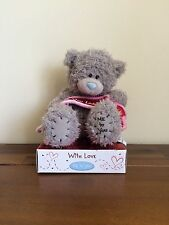 Me To You Tatty Teddy Grey Bear Love You Loads Banner Valentines/Gift 6""