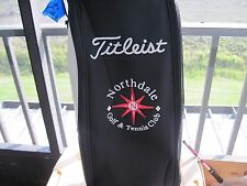 """Titleist Cart Golf Bag """"NorthDale"""" Red, Black and White in EXCELLENT GC 2095"""