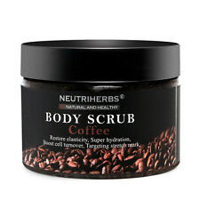 Organic Neutriherbs Coffee Body Scrub Cream Herbal Exfoliating Womans Day Scrubs