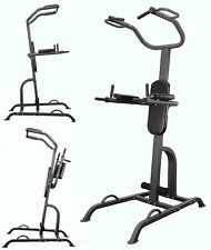 VKR Power Tower Press & Pull up Fitness Training Chinning & Dip Station Workout
