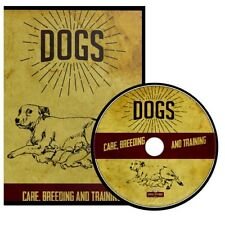 Dogs ~ Their Care, Breeding and Training { 25 How To Books } ~ DVD Gift Set