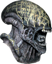 Halloween LifeSize Costume ALIEN vs PREDATOR ALIEN DELUXE MASK Haunted House NEW