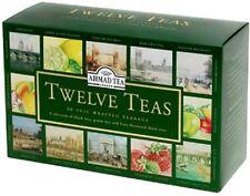 Ahmad TEA-Twelve teas Selection 12 diversi luoghi Tees