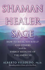 VILLOLDO,ALBERT-SHAMAN_ HEALER_ SAGE BOOK NEW AGE Second Hand