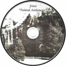 JONSI Animal Arithmetic 3:23 USA Promo CD Single Sigur Ros vocalist solo