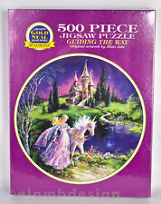 Gold Seal Guiding The Way Mimi Jobe Unicorn Fantasy Jigsaw Puzzle 500 pc New