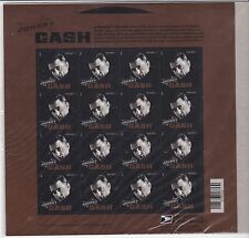 JOHNNY CASH US MUSIC ICON SONGWRITER Scott #4789 16 Mint NH Forever Stamp Sheet