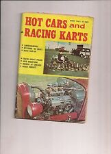 Hot Cars and Racing Karts Magazine August 1962 Issue