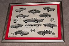 Corvette collectible marble wall plaque