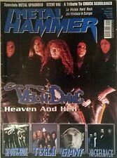 METAL HAMMER N°1 2002 VISION DIVINE MY DYING BRIDE TESLA GIANT NICKELBACK