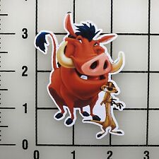 "Disney Timon and Pumba Lion King 3"" Wide Vinyl Decal Sticker BOGO"