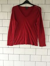 WOMEN'S 90'S URBAN VINTAGE RETRO RALPH LAUREN THIN LONG SLEEVE JUMPER TOP XL