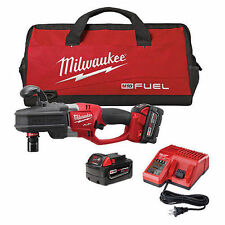 "Genuine Milwaukee 2708-22 18V Li-Ion 7/16"" Hex  Cordless Right Angle Drill"