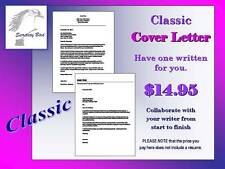 Professional Resume Writing Service - CLASSIC COVER LETTER