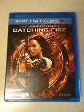 The Hunger Games: Catching Fire (Blu-ray / DVD 2014, 2-Disc Set) Brand New