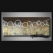 ABSTRACT CANVAS PAINTING WALL ART 60 in, Large, Signed, US..... ELOISExxx