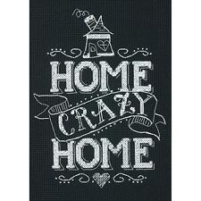 Dimensions Cross Stitch Kit- Home Crazy Home