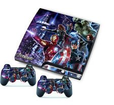 Avenger Sticker for PlayStation 3 Slim PS3 Console + Controller Skins